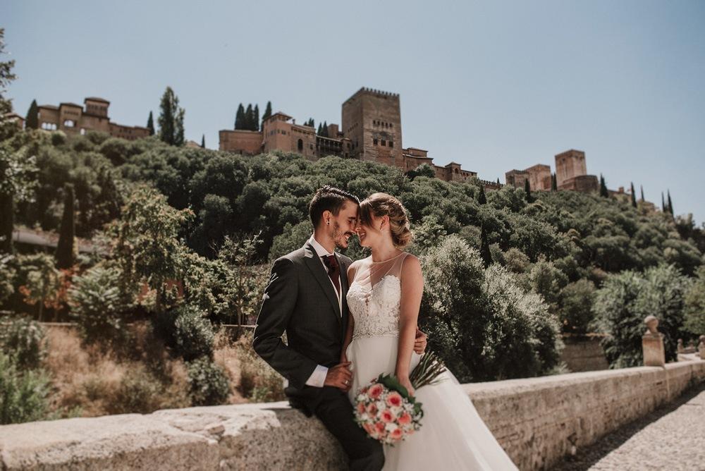 Boda en la Alhambra Chapiteles